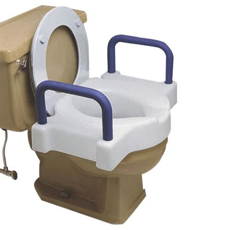 340mm wide toilet seat maddak wide ette toilet seat with arms raised