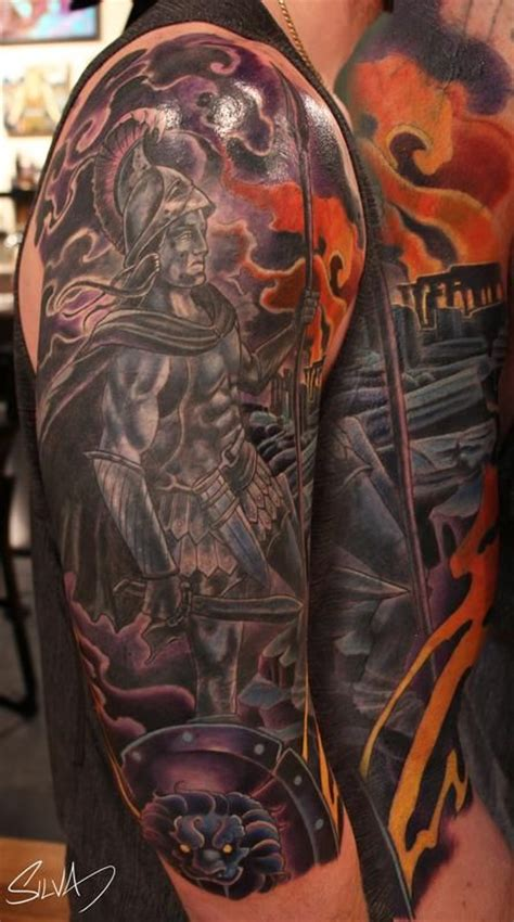 god of war tattoo 49 best aries goddess of war tattoos images on