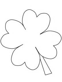 clover coloring page free coloring pages of 4 h clover
