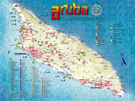printable aruba road map aruba maps printable maps of aruba for download