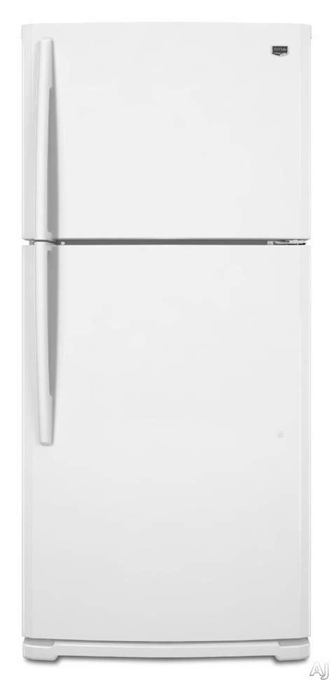 Clear Door Refrigerator by Maytag M8txegfbw 185 Cu Ft Topfreezer Refrigerator With