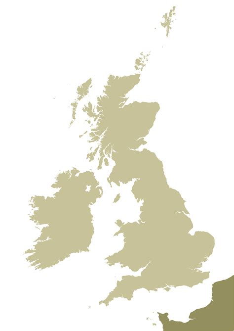 map uk vector isles outline map royalty free editable vector