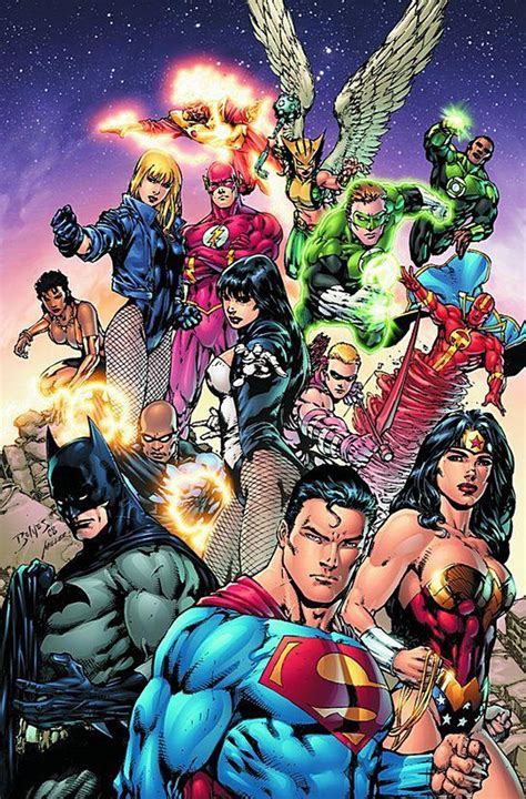 justice league of america dsng s sci fi megaverse the art by ed benes featuring