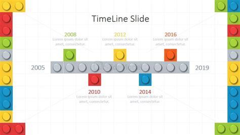 powerpoint themes lego lego theme powerpoint timeline slidemodel