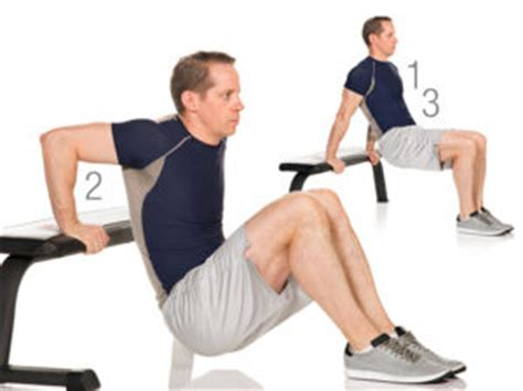 dips off bench weight lifting plan strength level 2 b