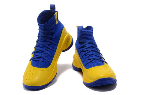 Curry 4 Black Blue armour curry 4 yellow blue black for sale air
