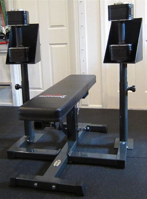 spotting dumbbell bench press ironmaster spotting stand review