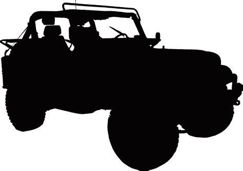 jeep silhouette jeep silhouette clip art cliparts