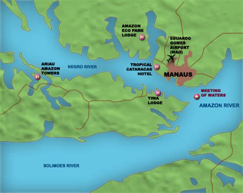map of manaus brazil travel guide brazil tourism information