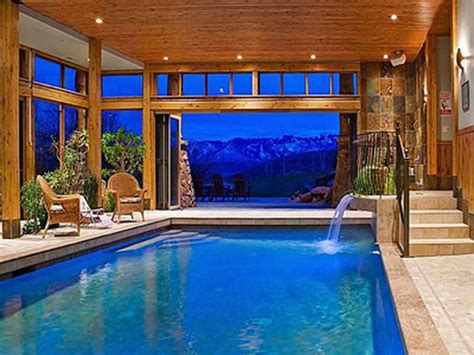 indoor outdoor pools architecture luxury home plans with indoor pool swimming