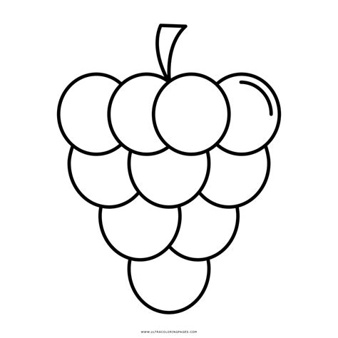 imagenes de unas uvas para dibujar uvas desenho para colorir ultra coloring pages