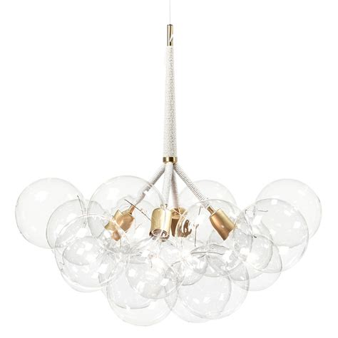 Spectacular X Large Bubble Chandelier To Make A Statement Large Chandelier Lighting