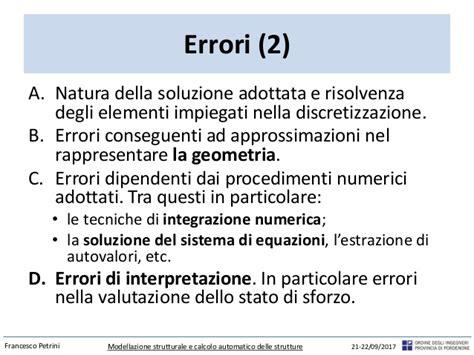 geometria differenziale dispense aspetti operativi della modellazione strutturale