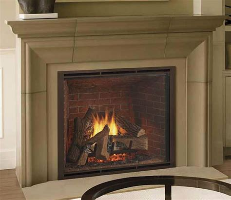 Heating Fireplace by Heat Glo True Series Gas Fireplaces Encino Fireplace