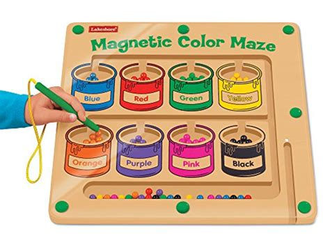 magnetic color maze lakeshore magnetic color maze import it all