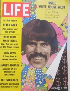 biography of peter max artist bartcop entertainment archives friday 18 october 2013