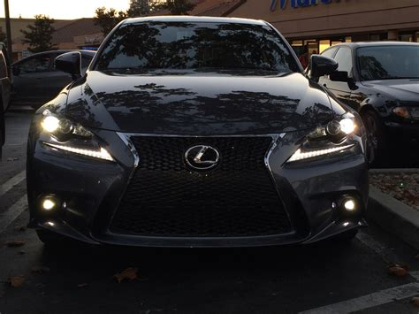 lexus lit 2014 is350 f sport led foglights diy clublexus lexus