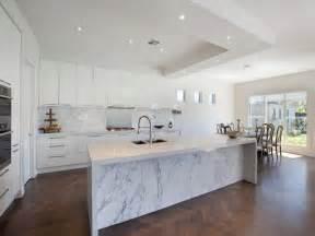 Marble Kitchen Designs Modern Kitchen Dining Kitchen Design Using Hardwood Kitchen Photo 674791