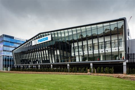 mazda headquarters news mazda s new australian hq proudly displays heritage