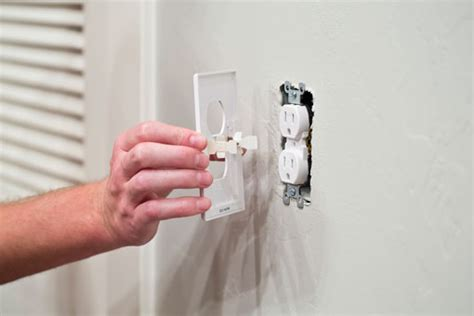 receptacle cover night light led night light outlet cover runs on just 10 162 per year