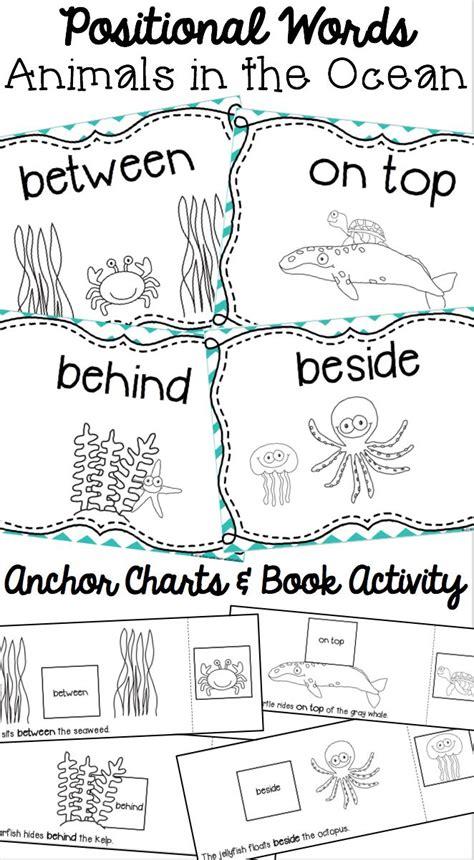 Preschool Positional Words Worksheets by 25 Best Ideas About Positional Words Kindergarten On