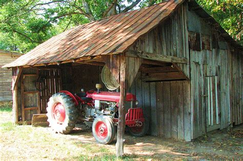traktor scheune barn and tractor i that you can see an wash