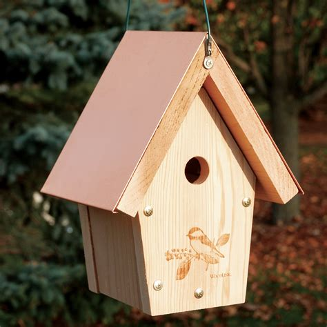 woodlink copch coppertop chickadee wren house atg stores