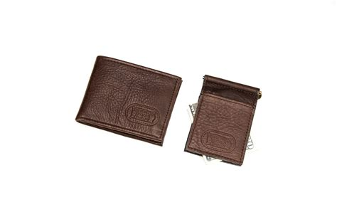Two Fold Wallet by Leather Two Fold Wallet And Money Clip Buffalo Billfold