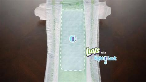 luvs commercial pacifier actress luvs nightlock tv spot pacifier ispot tv
