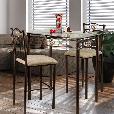 small pub table set from classic and simple to modern style of small pub table