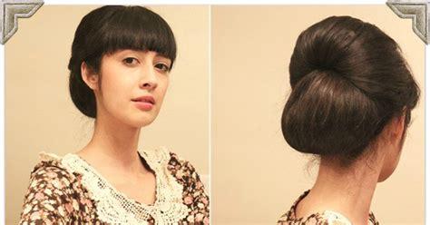 Konde Cantik Sanggul Rambut kanubeea hair clip tilan anggun dengan sanggul cantik