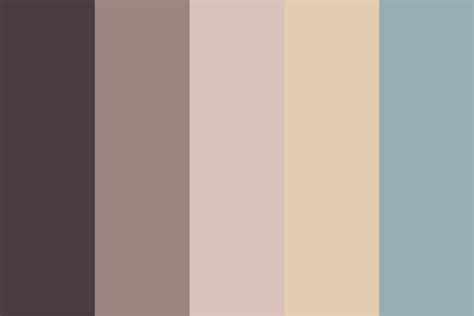 beige blue color palette