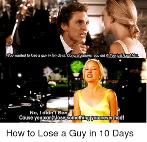 Friday How To Lose A In 10 Days by You Wanted To Lose A In Ten Days Congratulations You