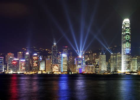 hong kong light photo