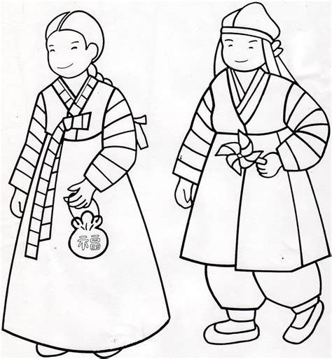 coloring book korea hanbok coloring page korean coloring lessons coloring home