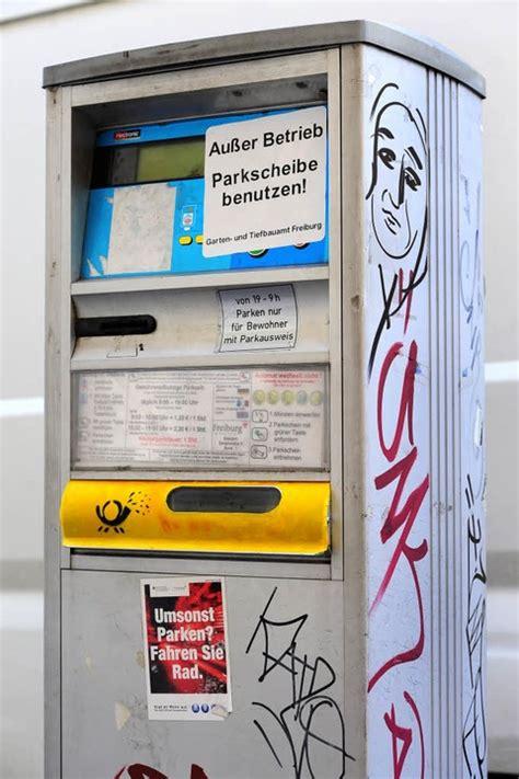 Aufkleber Drucken Freiburg by Parkscheinautomaten Au 223 Er Betrieb Aufkleber Sind Kein