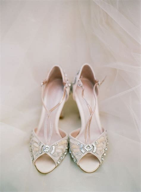 Beaded Wedding Shoes by 20 Vintage Wedding Shoes That Wow Deer Pearl Flowers