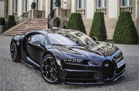 bugatti chiron dealership a dealer built a bugatti chiron in fully exposed