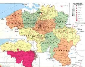 map of belgium belgium map size