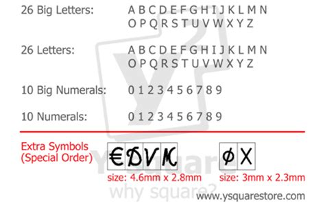 Credit Card Letter Font Pvc Id Credit Card Embossing Machine Ster Embosser 36 Ocrb Big Size Letters Ebay