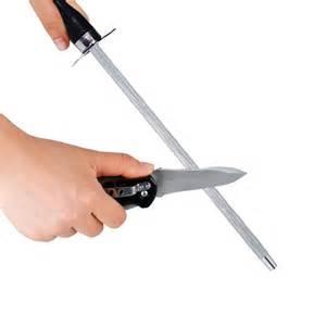 How Do You Sharpen Kitchen Knives Sharpening Steel Rod Stick Kitchen Knife Sharpener Butcher