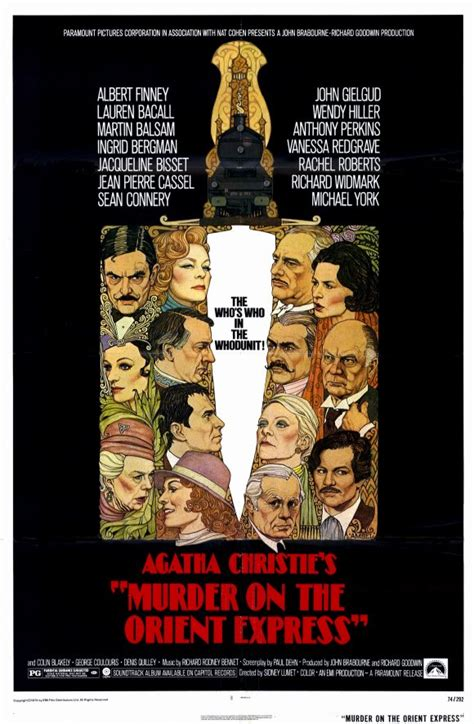 Murder Orient Express 1974 Film Filmfanatic Org 187 Murder On The Orient Express 1974