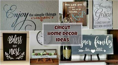 cricut home decor projects the ultimate resource for cricut ideas leap of faith