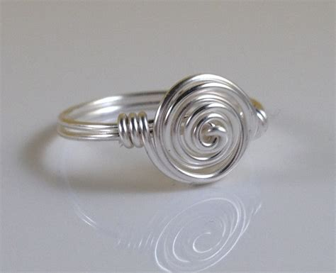 How To Make Handmade Rings With Wire - handmade wire ring simple nuevo sol