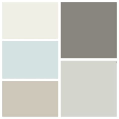 new house color scheme clockwise from top left benjamin quot white dove quot quot chelsea gray