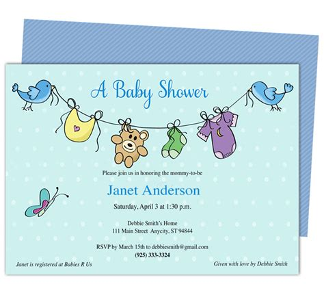 baby shower invitation templates free baby shower invitation templates free