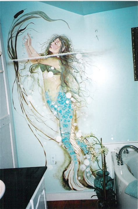 Mermaid Bathroom Decor Home Interior Design Mermaid Bathroom Ideas
