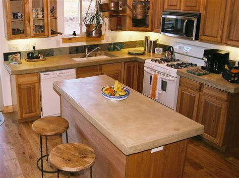 kitchen cabinet countertop furniture magnificent concrete countertops design