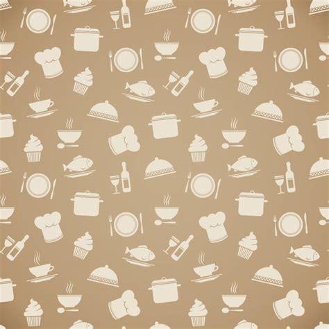 cooking pattern design vector