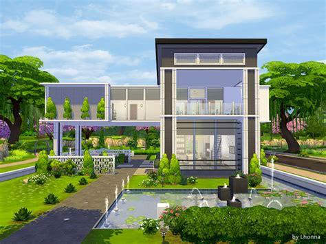 Micro Mansions by Casa Moderna Panorama The Sims 4 Pirralho Do Game